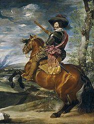 Diego Vélasquez: Gaspar de Guzmán, comte-duc d'Olivares, à cheval