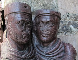 Portrait of the Four Tetrarchs - Detail.