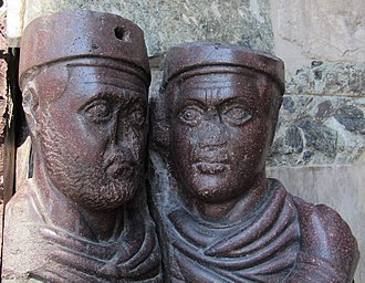 Portrait of the Four Tetrarchs - Detail