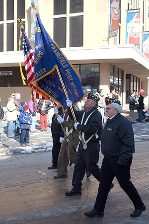 Taken in Madison, Wisconsin during Veteran's D...
