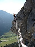 Via Ferrata La Clusaz bridge.jpg