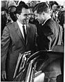 Vice President Richard Nixon Welcomes President-Elect John F. Kennedy to Key Biscayne, Florida A10-024-42-44-1 RN.jpg