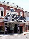 Biograph Theater entrance and marquee