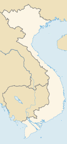 Locations of National Parks of Vietnam