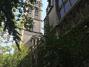 Fourth Universalist Society in the City of New York - View from 76th Street