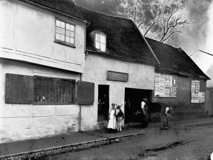 View blacksmith shop Bury St Edmunds