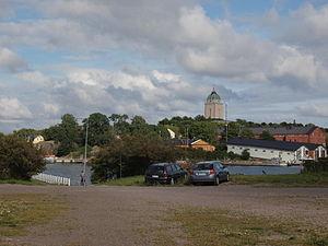 Suomenlinna - View from Länsi-Mustasaari to Pikku-Mustasaari