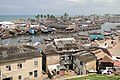 View over Elmina and Benya Lagoon from Fort St. Jago - Elmina - Ghana - 1 (4721740652).jpg