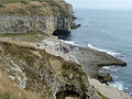 View towards Dancing Ledge from the west - geograph.org.uk - 1621212.jpg