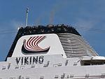 Viking Sea Funnel Port of Tallinn 6 June 2017.jpg
