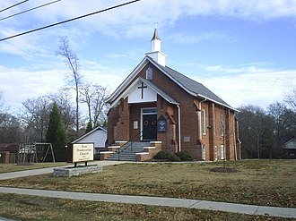 Villa Rica, Georgia - Villa Rica First Presbyterian Church