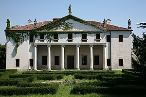 Villa Valmarana (Lisiera) - Villa Valmarana at Lisiera.