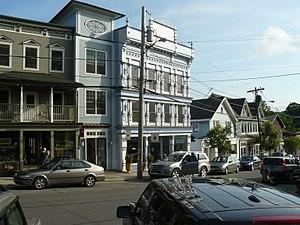 Millerton, New York - Business district in Millerton