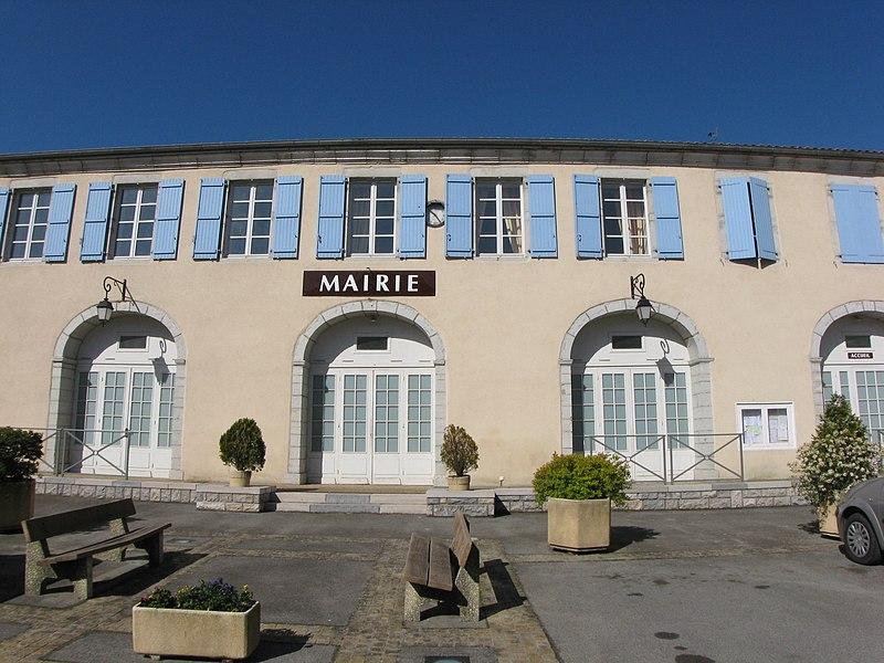 Mairie de Labastide-Villefranche (Pyrénées-Atlantiques) (Pyrénées).