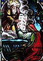 Villeréal - Église Notre-Dame - Vitrail de l'histoire de Moïse - 2.jpg