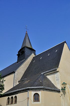 L'église Saint-Vincent.