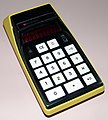 Vintage Bowmar Electronic Pocket Calculator, Model MX-40, (aka 91802), Red LED Display, Sealed Battery, Made In USA, Circa 1973 (14755144536).jpg