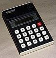 Vintage Sharp Elsi Mate, Model EL-203, Pocket LCD Electronic Calculator, 1977 (8720866375).jpg