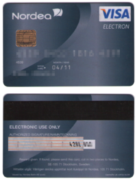 swedish visa electron card - Free Prepaid Visa Cards