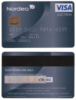 Visa Electron - Wikipedia, the free encyclopedia