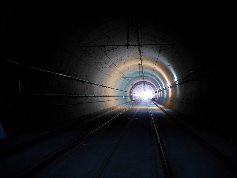 Visite du chantier du tunnel de la ligne du tramway T6 dans la forêt de Meudon - Journée du patrimoine 2015 - RATP