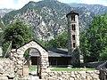 Vista del conjunt de l'església de Santa Coloma, Andorra.jpg