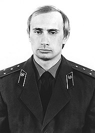 Vladimir Putin in KGB uniform.jpg
