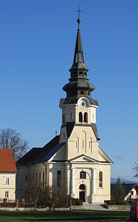 Vodice Slovenia - church.JPG