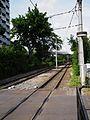 Vogelstang Mannheim Gleise MVV Verkehr AG Juni 2012.JPG