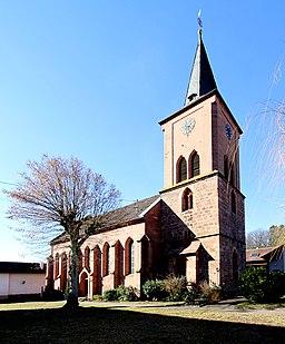 Vorderweidenthal protestantische Kirche 04 2019 gje
