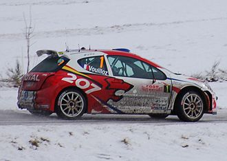 Nicolas Vouilloz - Vouilloz at the 2009 Monte Carlo Rally