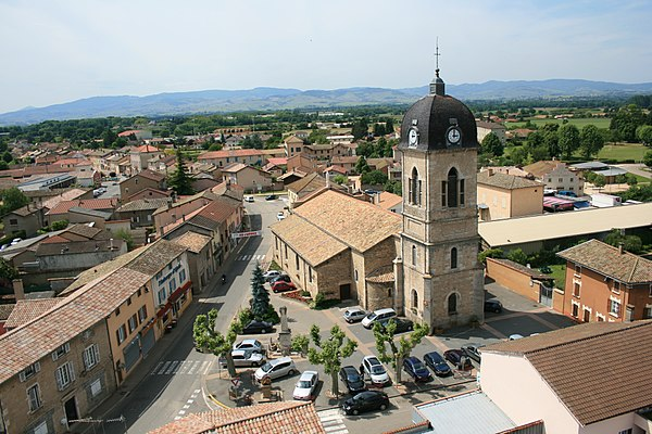 Photo de la ville Saint-Didier-sur-Chalaronne