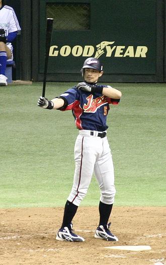 Ichiro Suzuki - Ichiro Suzuki at the World Baseball Classic 2006
