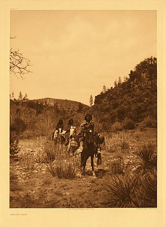 Fort Apache Indian Reservation - Image: WM Apaches