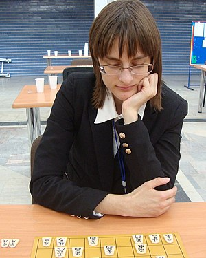 Professional shogi player -  Karolina Styczyńska became the first non-Japanese professional shogi player in 2017