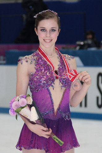 Ashley Wagner - Wagner won the bronze medal at the 2009 NHK Trophy.