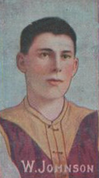 1916 VFL season - Premiership captain Wally Johnson