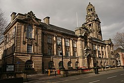 Walsall Council House in Walsall, West Midlands
