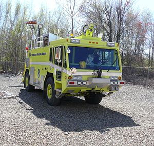 Walter Aircraft Rescue & Fire Fighting truck.JPG