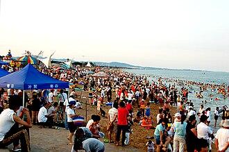 Rizhao - Image: Wanping kou beach