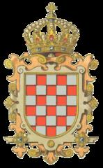 Hrvatski grb u Austro-Ugarskoj prema H. Ströhlu (1851.-1919.)