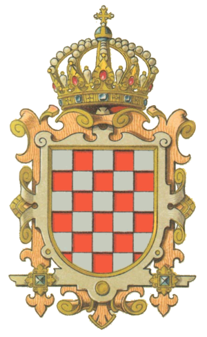 Croatian nobility - Coat of arms of pre-revolutionary Kingdom of Croatia