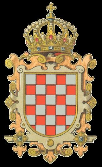 Croatian nobility - Coat of arms of pre-revolutionary Kingdom of Croatia