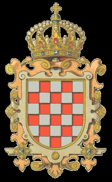 Datei:Wappen Königreich Croatien & Slavonien.png