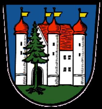 Thannhausen - Image: Wappen Thannhausen