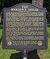 Warden's House Museum sign.jpg