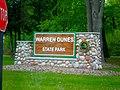 Warren Dunes State Park Exit-Entrance (2503757297).jpg