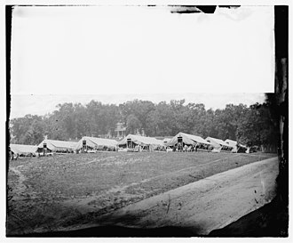 Finley General Hospital - Image: Washington, District of Columbia (vicinity). Hospital camp. Kendall Green LOC cwpb.01394