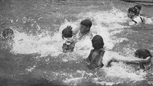 Water polo at the 1904 Summer Olympics - Image: Water Polo 1904 Olympics