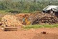 Water tap (maybe illegal use?) in Ruyigi (6923212851).jpg